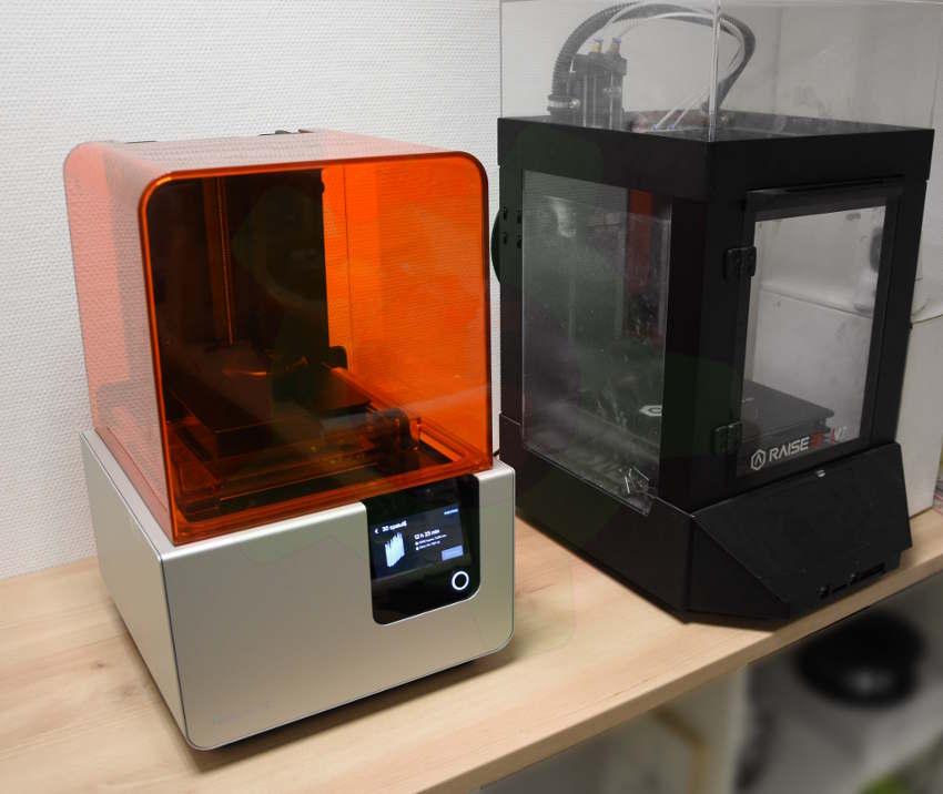 Imprimante 3D SLA et FDM
