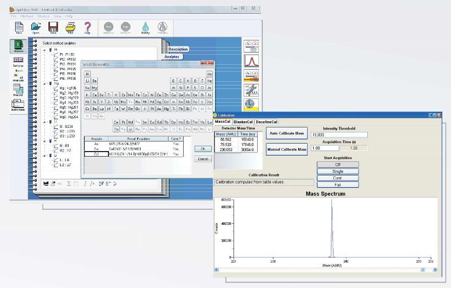 Optimass 9600 GBC - Logiciel