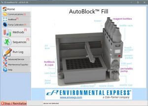 Environmental Express - Autoblock Fill - Logiciel - Home