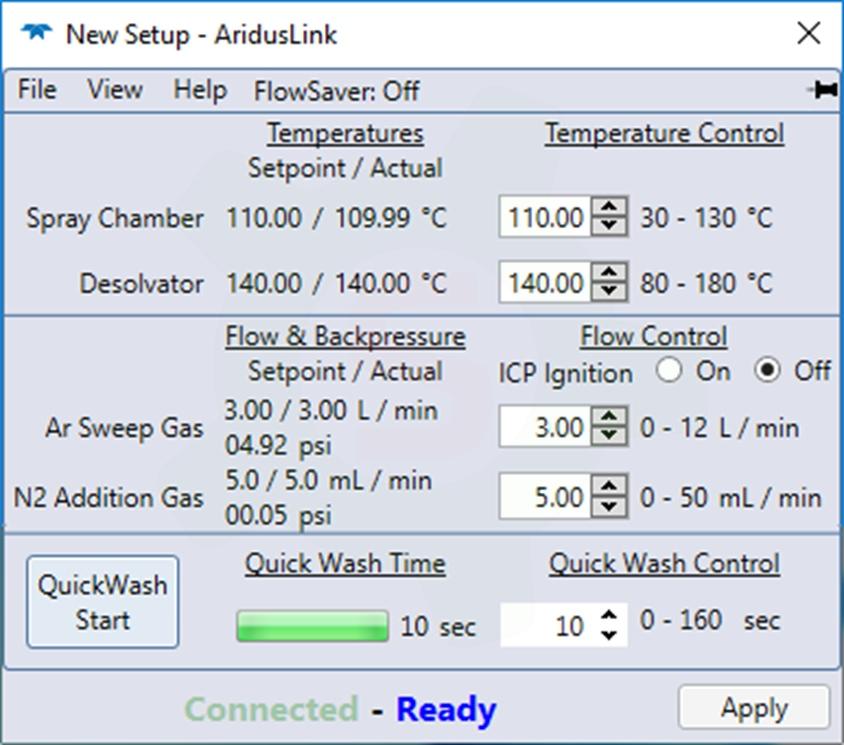Teledyne CETAC - Aridus 3 - AridusLink - QuickWash 3