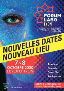 Forum Labo Lyon reporté au 07 et 08 octobre 2020